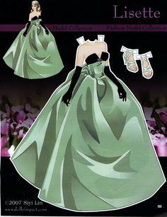 Fashion Model Collection 2 Paper Doll - Katerine Coss - Álbuns da web do Picasa Barbie Paper Dolls, Vintage Paper Dolls, Paper Toys, Paper Crafts, Paper Dolls Printable, Barbie Friends, Scrapbook Paper, Scrapbooking, Fashion Dolls