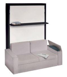 lit escamotable avec canape integre ikea recherche google lit escamotable pinterest. Black Bedroom Furniture Sets. Home Design Ideas