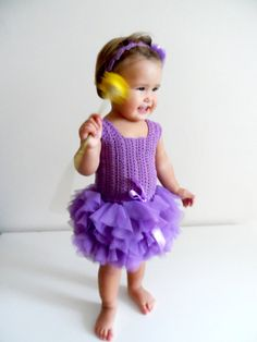 Baby Tulle Dress with Stretch Crochet Top.Tulle от AylinkaShop