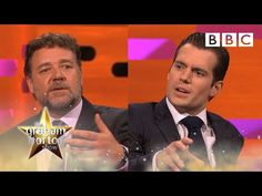 Henry Cavill and Russell Crowe on sex scenes and kissing | The Graham Norton Show - BBC - YouTube Norton Show, Russell Crowe, Bbc One, Amy Adams, Henry Cavill, Live Tv, Kissing, Graham, Respect