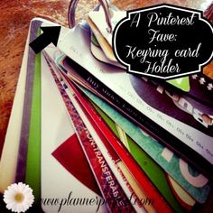 Planner Perfect: organizing your purse