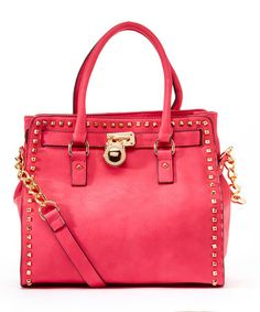 Love this Pink Office-Chic Tote by MKF Collection on #zulily! #zulilyfinds