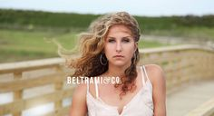 Beltrami & Co. Photography Senior Portraits // Beach Photo Shoot