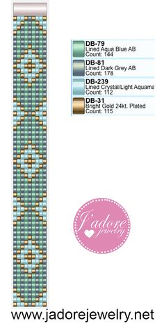 Seed beads pattern