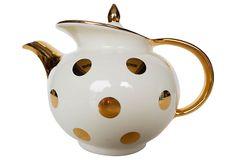 Mid-Century Modern Hall Teapot on OneKingsLane.com