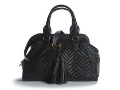 Simple black bag is perfect for any outfit.