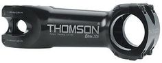 "New Thomson Elite X4 1 1/8"" 100mm Black Stem 31.8mm"