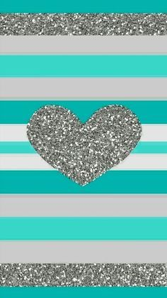 Teal Glitter Heart Quote Maker Patterns On Pinterest Iphone Wallpapers Iphone 5 Iphone Wallpaper Glitter Heart Iphone Wallpaper Heart Wallpaper