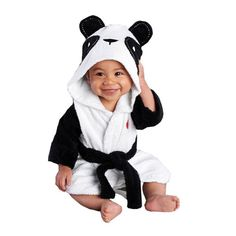 52880c4c9 IDGIRL Unisex-baby Winter Flannel Romper Panda Outfits Suit | Pinterest |  Panda outfit, Baby winter and Unisex baby