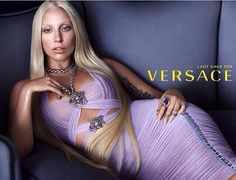 Lady gaga for Versace 2014