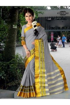 Make a fusion of style and comfort by draping this grey and golden coloured woven handloom cotton silk saree with unstitched blouse piece #sareesforwomen #handloomsarees #womenssarees #gerysaree #cottonsilksarees#handloomsareesonline #onlinehandloomsarees Shop now- https://trendybharat.com/gray-and-gold-colour-woven-handloom-cotton-silk-saree-with-unstitched-blouse-piece-kymle-1063?search=handloom&page=2