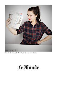 Le Monde, Camille Bordenet #polaroid #picture #vintage #connectedphotos