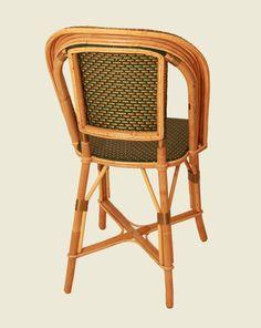 Chaise Marly (vert-sapin-or) - Maison Drucker