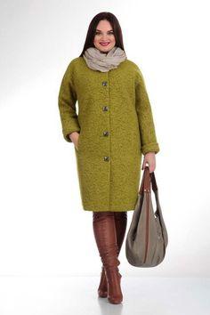 Пальто для полных женщин ведущих белорусских марок, осень-зима 2016-2017 Diva Fashion, Fashion Sewing, Modele Hijab, Coats For Women, Clothes For Women, Churidar Designs, Hijab Outfit, Winter Wear, Plus Size Fashion