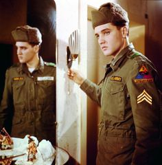 March 24th,1958, the king of rock and roll started his two-year stint in the U.S. Army. Several months later Elvis Presley shipped out to Germany, leaving his fans back home all shook up.