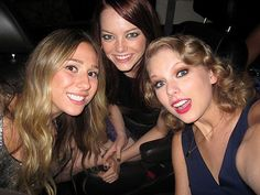 ASHLEY, EMMA & TAYLOR   photo | Emma Stone, Taylor Swift