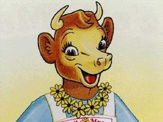 (P) Texas Pop Culture: Elsie the Cow, seen in ads for Borden's Dairy products