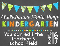 Super cute chalkboard style photo prop signs. A perfect addition as a prop for documenting the school year. Make lasting memories for students and parents!  Signs Included:* 1st Day* 100 Days (2 versions)* April Fool's Day* AR* Black History* Blank* Children's Book Week* Cinco de Mayo* Count 100* Earth Day* Fall* Field Day* Fire Prevention Week* Goodbye* Grandparents Day* Groundhog Day* Grown Up* Halloween* Hanukkah* Kwanzaa* Last Day (2 versions)* Merry Christmas* Mothers Day* Rocked It…