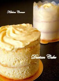 Kitchen Corner: Durian Cake
