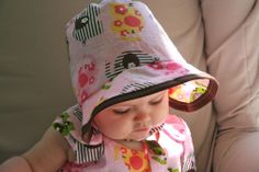 free baby bonnet patterns to sew | Baby Bonnets Abound!