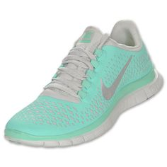 Mint green Nikes