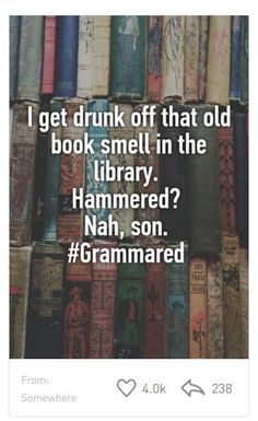 Bookish secrets from Whisper - the smell of old books.