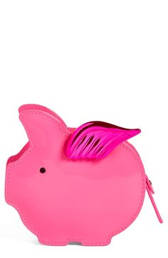 This little piggy goes to the market, or the gym, or anywhere you go to help keep loose change stylishly organized.