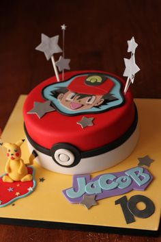 Pokemon cake for Jacob by Andrea's SweetCakes, via Flickr