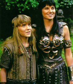 Xena and Solan