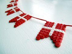 Frk. Hansen: DIY -flag ranke