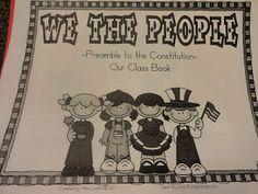 Adventures in Third Grade: Happy Constitution Day!