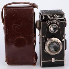 Welta Superfekta folding TLR German camera Meyer Trioplan 3,8/10cm