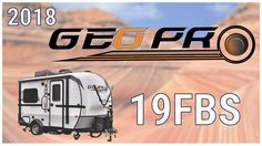2018 Forest River Rockwood Geo Pro 19FBS Travel Trailer RV For Sale Hamiltons RV Outlet Explore this 2018 Rockwood Geo Pro 19FBS and more at http://ift.tt/2sUq2vD or call Hamiltons RV today at 989-702-2735!   The 2018 Rockwood Geo Pro 19FBS travel trailer takes the comforts of home to the road!   Two-tone fiberglass sidewalls and custom graphics decorate the exterior of this RV. The 19FBS comes equipped with a 40 pound LP capacity a manual tongue jack a frame-mounted bike rack and a diamond…