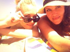 Sarah Lancaster and Yvonne Strahovski Twipic June 2013