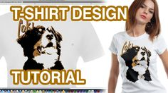 How to Design a T-shirt from a Photograph - Photoshop Tutorial