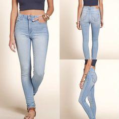 b5498bb4ba53a 💥FLASH SALE Hollister Super Skinny Highrise Jeans 💥ON SALE FOR 24 Hrs💥  Hollister