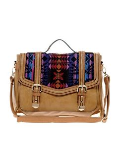 Enlarge ASOS Aztec Satchel Bag