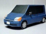 Honda Mobilio Mini MPV Free Vehicle Paper Model Download