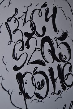 This example of the lettering me during this