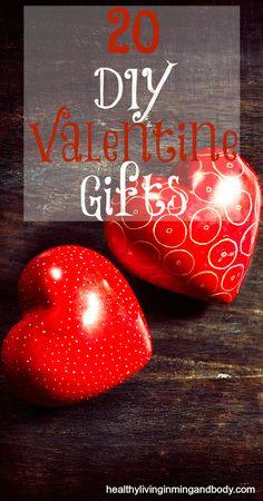 20 DIY Valentine  Gifts