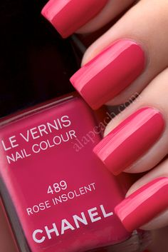 Chanel Le Vernis Rose Insolent