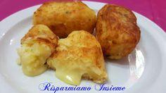 Risparmiamo Insieme - Let's save together: Crocchette di patate con ripieno filante