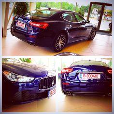 Maserati Ghibli - Blue Passione