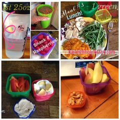 21 day fix meals and snacks
