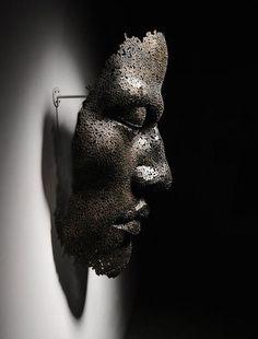 Yeong-Deok Seo __ art metal dark artists portrait sculpture human body The historical past on the island country of Japan paints a transparent photograph o Portrait Sculpture, Metal Art Sculpture, Modern Sculpture, Sculptures Céramiques, Korean Artist, Installation Art, Sculpting, Contemporary Art, Art Photography