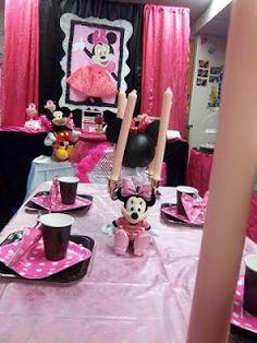 Decoración de Fiestas Infantiles de Minni Mouse