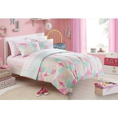 Shop for Heritage Kids Ballerina Sparkle Toddler 4-piece Bed in a Bag wtih Sheet Set. Free Shipping on orders over $45 at Overstock.com - Your Online Kids'