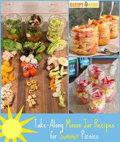 Summer Mason Jar Recipes