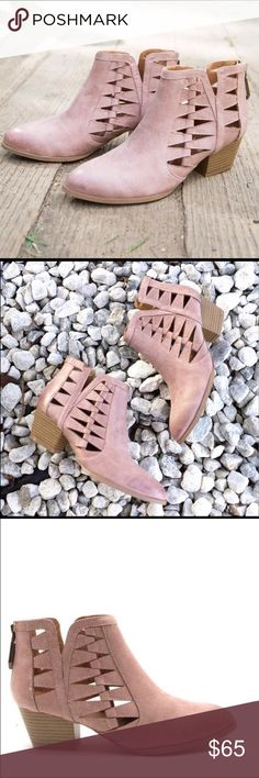 🔥Brand New Blush Pink Booties NWT 🔥We all know blush is on trend! Let these beauties comfortably carry you through the summer into fall!   Flexible sole True to size Super comfy fit! I absolutely LOVE THESE! So pretty, comfy & chic!  NWT  Brand new with tags! 🔥🔥🔥SOLD OUT boutique item! Shoes Ankle Boots & Booties