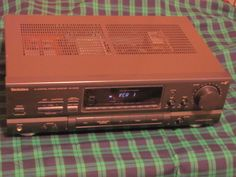 Technics Stereo Amplifier SA-GX190 Receiver 100 Watts Tested Nice LOUD A/V  #Technics ends Feb 23 10:29 am